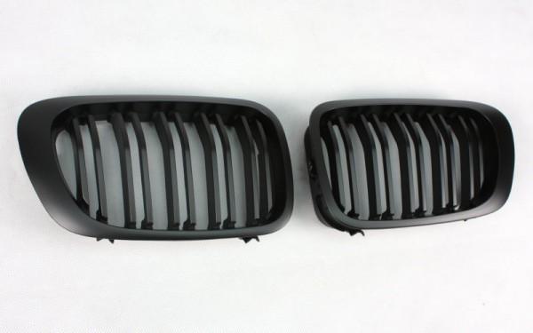Frontgrill SCHWARZ für BMW 3er Cabrio, Coupe (E46, '99-'02), M3 (E46)
