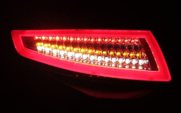 LED-BAR-Rückleuchten SET für Porsche 911 (997) -2008 ROT/SMOKE