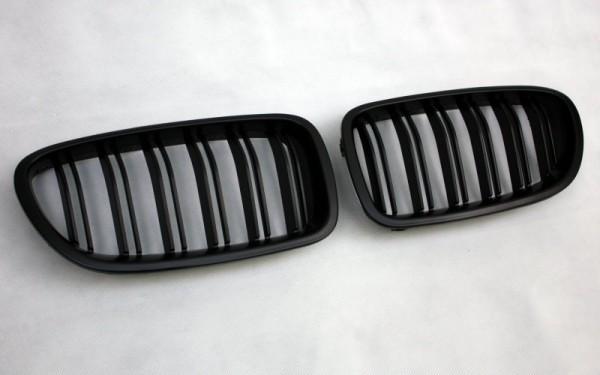 Frontgrill SCHWARZ für BMW 5er (F10/F11/F18/F10 LCI/F11 LCI/F18 LCI)