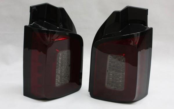 LED-Rückleuchten SET VW T6 2 Hecktüren ROT/SMOKE