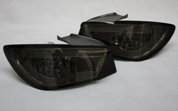 LED-BAR-Rückleuchten SET Seat Ibiza (6J) CHROM/SMOKE