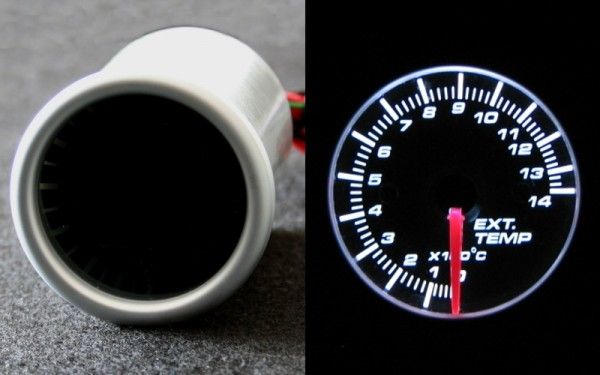 Abgastemperaturanzeige SMOKE-LINE 52mm