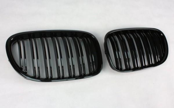 Frontgrill SCHWARZ GLÄNZEND für BMW 7er (F01/F02/F03/F04/F01 LCI/F02 LCI/F03 LCI/F04 LCI)
