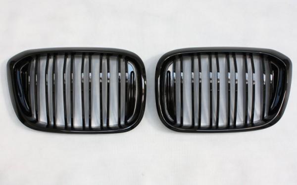 Frontgrill SCHWARZ GLÄNZEND für BMW X3 (G01), X4 (G02)