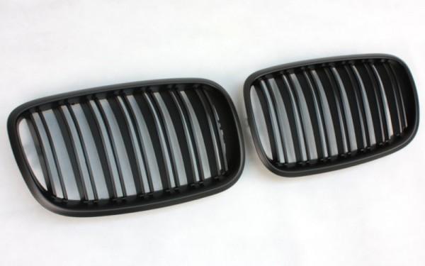 Frontgrill SCHWARZ für BMW X5 (E70), X6 (E71)