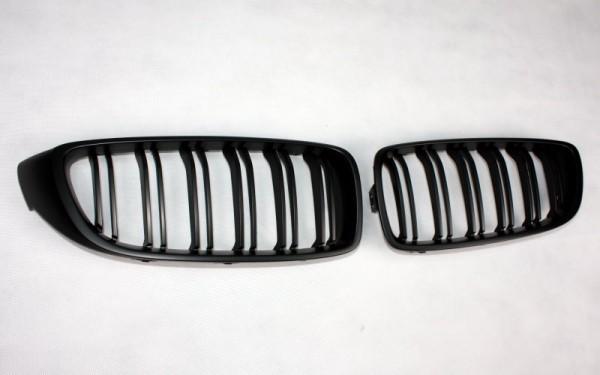 Frontgrill SCHWARZ für BMW 4er (F32, F33, F36), M4 (F82, F83)