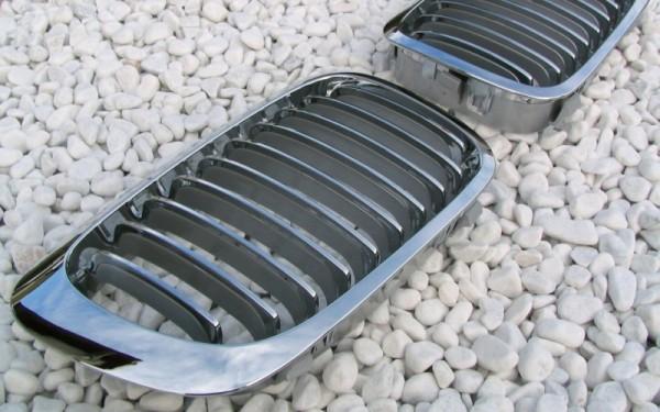 Frontgrill CHROM für BMW 3er Cabrio, Coupe (E46, '99-'02), M3 (E46)