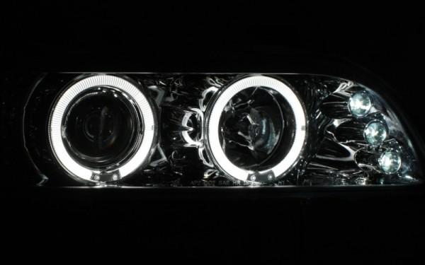 Scheinwerfer SET Standlichtringe CHROM BMW 5er (E39)