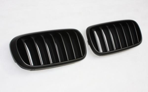 Frontgrill SCHWARZ für BMW X5 (F15)