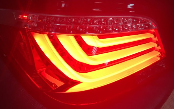 LED-BAR-Rückleuchten SET BMW 5er (E60) Vorfacelift (-'07) CHROM/SMOKE