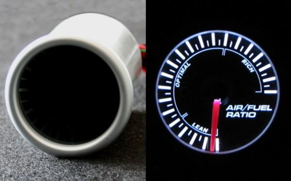 Luft/Kraftstoff-Gemischanzeige SMOKE-LINE 52mm