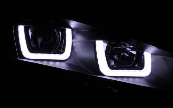 Scheinwerfer SET R87 Tagfahrlicht SCHWARZ VW Golf 7 UBAR