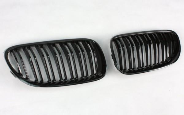 Frontgrill SCHWARZ GLÄNZEND für BMW 3er Coupe, Cabrio (E92 LCI/E93 LCI, '10-)