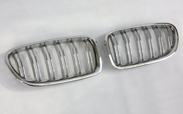 Frontgrill CHROM für BMW 5er (F10/F11/F18/F10 LCI/F11 LCI/F18 LCI)