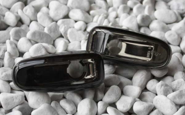 Seitenblinker SET SCHWARZ Mercedes-Benz E-Klasse W210 (-'99), CLK W208 (-'99), SLK R170 (-'00)
