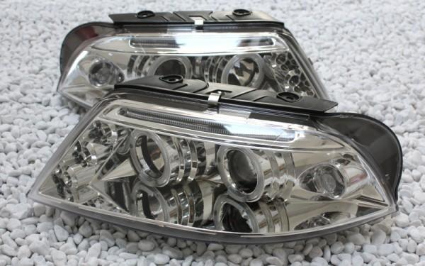 Scheinwerfer SET Standlichtringe CHROM VW Passat B5 GP (3BG)