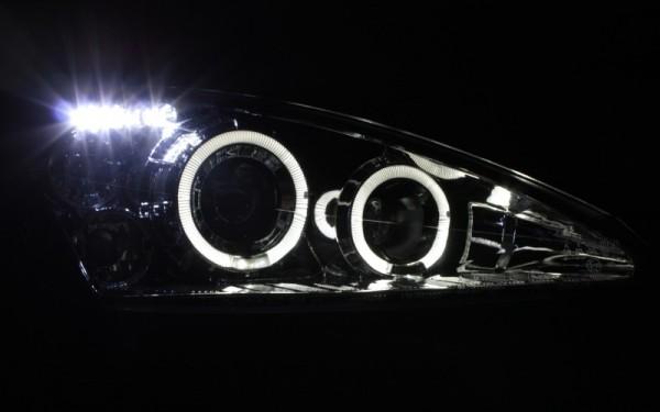 Scheinwerfer SET Standlichtringe CHROM Ford Focus MK1 ('98-'01)