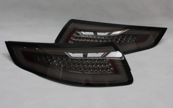 LED-BAR-Rückleuchten SET für Porsche 911 (997) -2008 CHROM/SMOKE