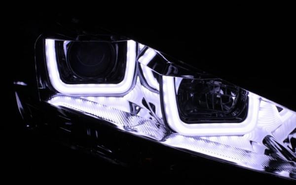 Scheinwerfer SET R87 Tagfahrlicht CHROM VW Golf 7 UBAR