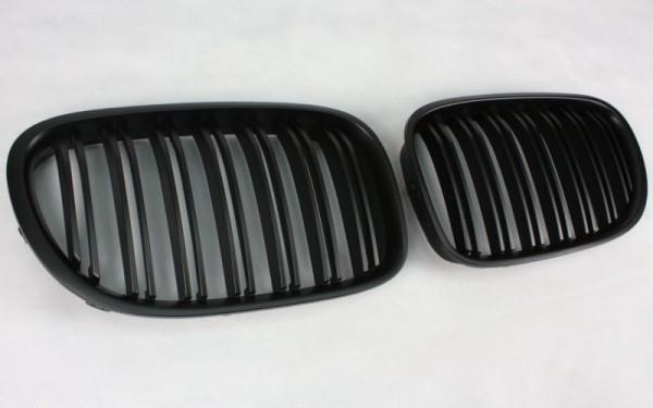 Frontgrill SCHWARZ für BMW 7er (F01/F02/F03/F04/F01 LCI/F02 LCI/F03 LCI/F04 LCI)