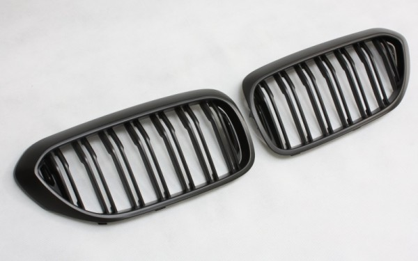 Frontgrill SCHWARZ für BMW 5er (G30/G31)